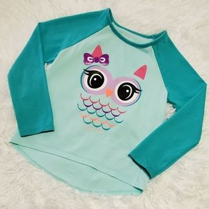 Owl long sleeve shirt